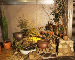 水鉢で出来る、ビオトープ、浮草とメダカを観察すれば、新しい発見が見つかります。
