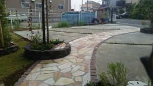 松戸市新築造園ガーデニング工事