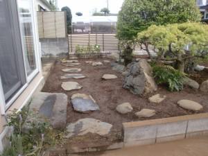 千葉県若葉区の造園施工事例