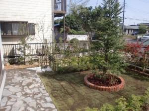 千葉市若葉区の造園事例