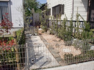 千葉市若葉区の造園4