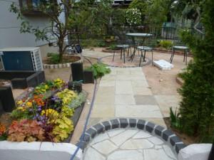 松戸市の造園事例