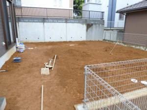 造園工事千葉県整地