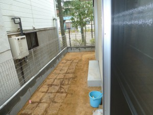 裏庭造園工事