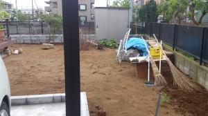 千葉県市川市、松戸市造園工事見積り