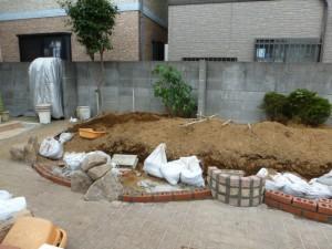 東京江戸川区リガーデン工事