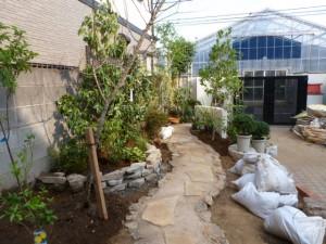 東京江戸川区、造園、植栽