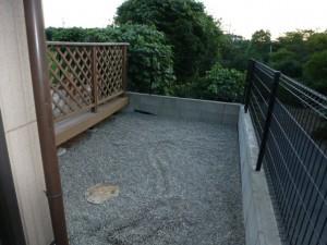 千葉県、四街道市、ぼうぼうお庭がきれいに