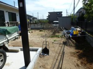 千葉県市川市新築造園工事