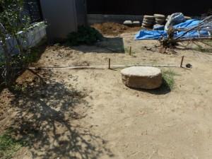 千葉県市川市、造園工事、さらからのお庭造り