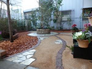 造園、リガーデン、道の庭