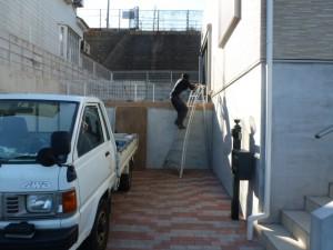 千葉県花見川区幕張町テラス階段工事