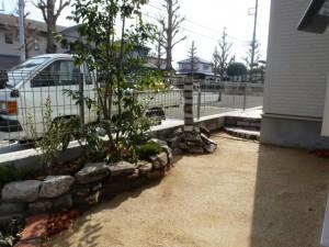 千葉県花見川区こてはし造園工事