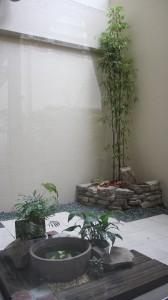 浦安市マンション専用庭造園工事、